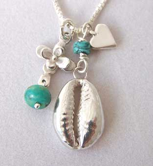 cowrie shell necklace
