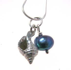 whelk necklace