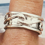 spinner wave ring
